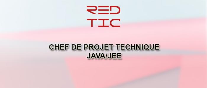 CHEF DE PROJETS TECHNIQUES JAVA/JEE
